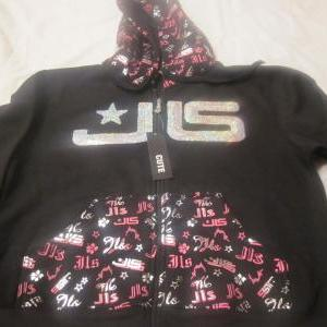 24 pcs JLS Ladies/Girls hoodies