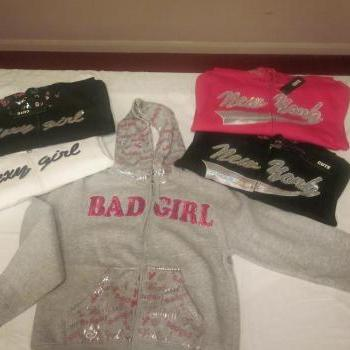 24 pcs Bad Girl Ladies/Girls hoodies